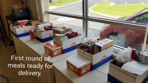 Summer Food Program Boxes