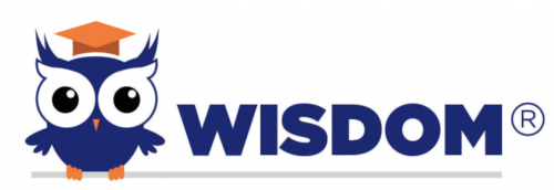 WISDOM learning management system logo