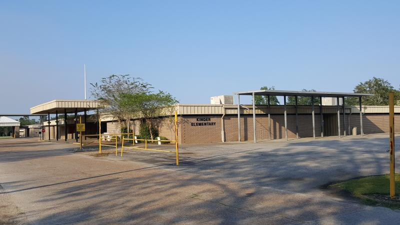Landscape View facing Kinder Elementary