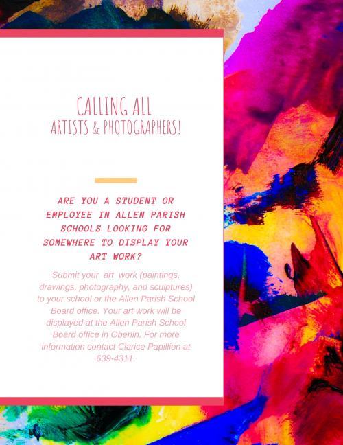 artis and photgraphers