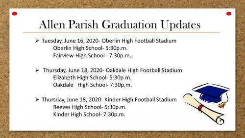 APSB Graduation Update