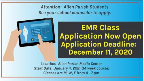 EMR Announcement