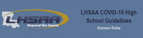 LHSAA COVID-19 Guidelines