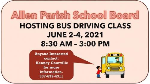 Bus driving class