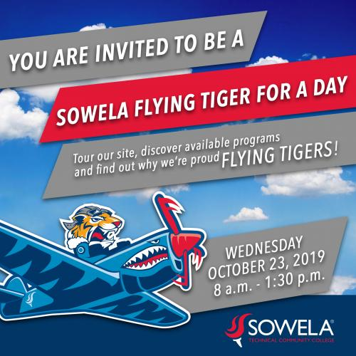 Flying Tiger for a Day Flyer
