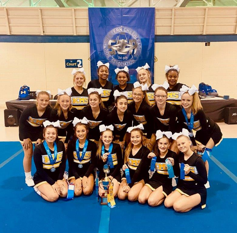 Middle School Cheer Camp Champions