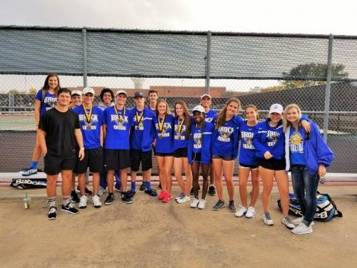Tennis Team - Gobbler Tournament