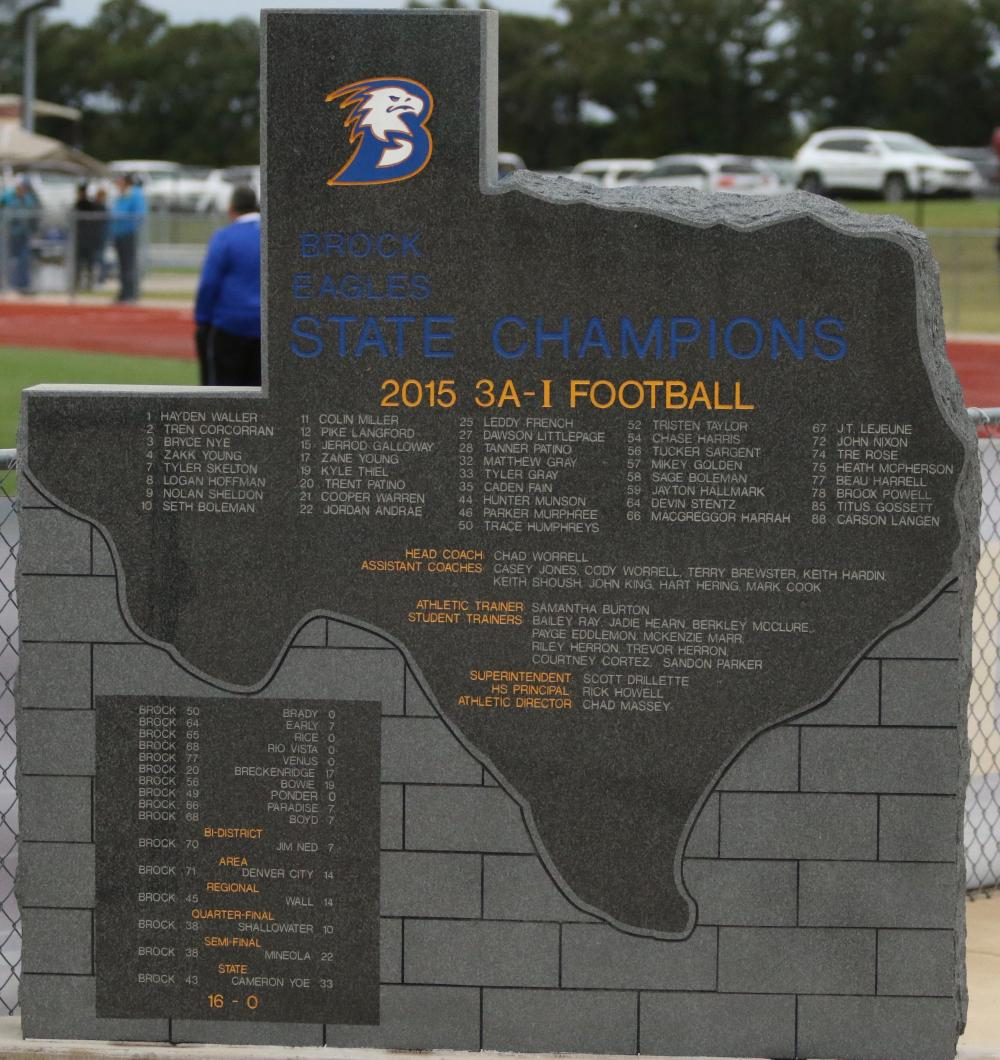 State Championship Monument