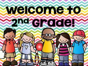 This is a welcome to 2nd grade clipart from Google.