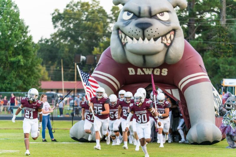 Bulldog Football vs. Hooks Game Information