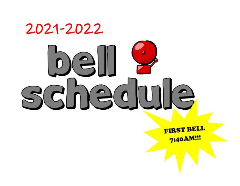 2021-2022 Bell Schedule