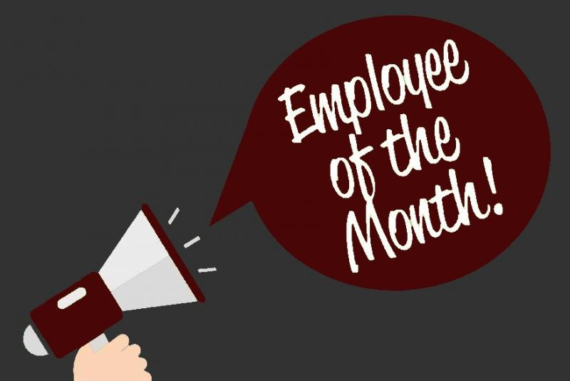 Employee of the Month, Lesley Glover!