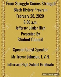 Thumbnail Image for Article Black History Program