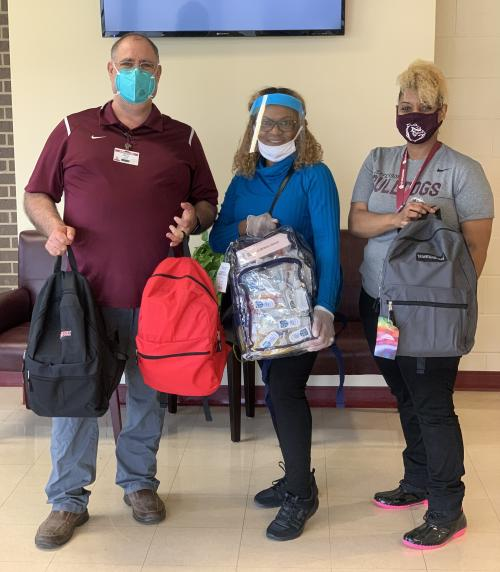 Dallas Metropolitan Jeffersonian Club provides PPE Supplies