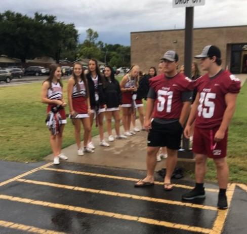 Football/Cheerleader Welcome