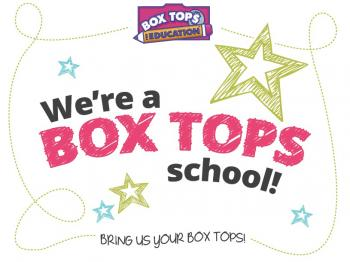 We're a Box Top School Image
