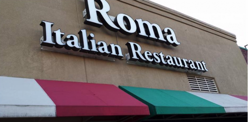 An Image showing Roma's Italian Restaurant