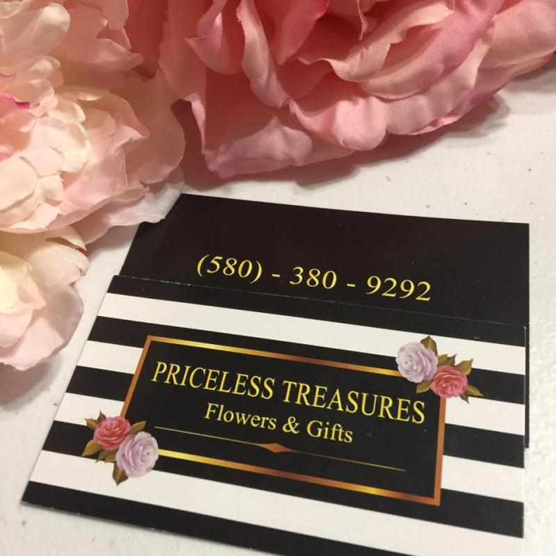 An Image showing Priceless Treasures Flowers & Gifts