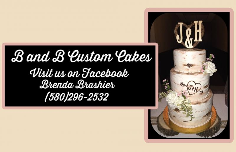 An Image showing B & B Custom Cakes