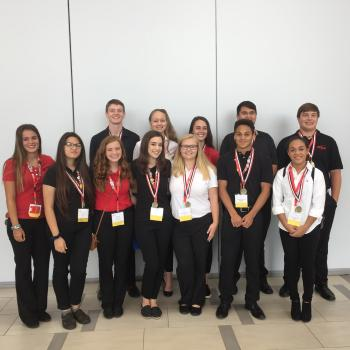 Eden High School FCCLA National Gold Medalists 2017