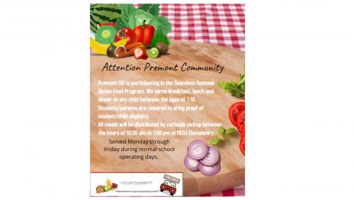 Food Service Flyer