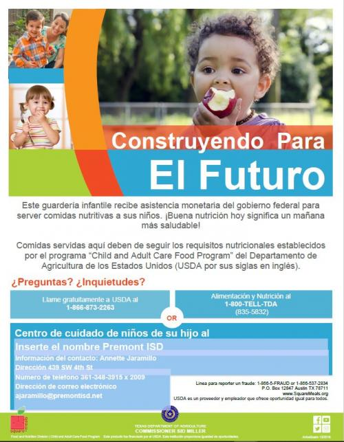 Building for the Future Flyer Spanish