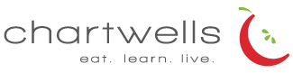 Chartwells Logo - Apple with text