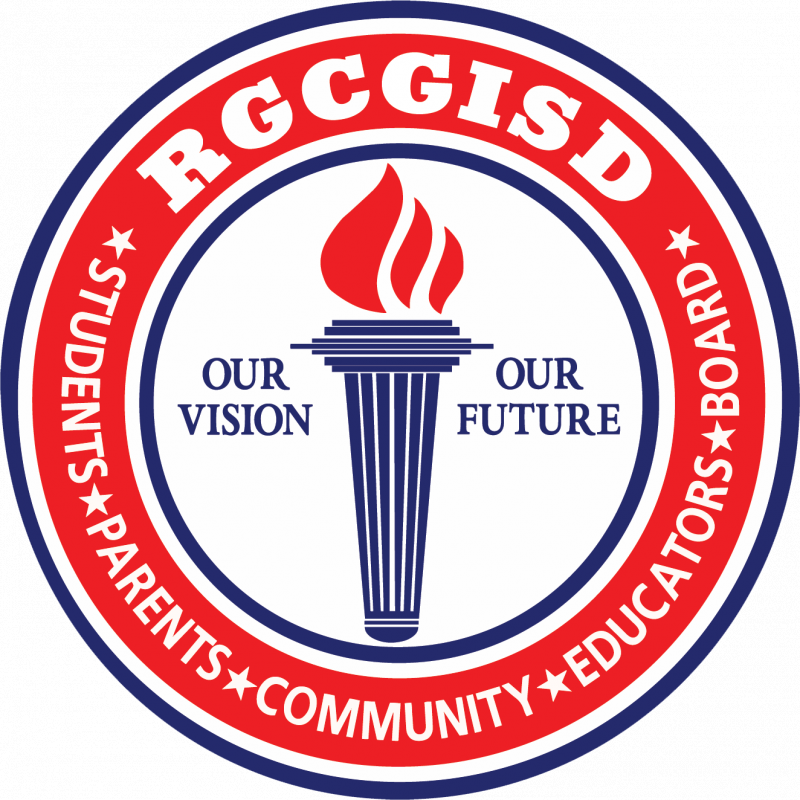 An image that welcomes users to contact Rio Grande City ISD