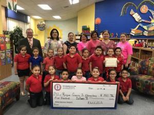 Roque Guerra, Jr. Elementary $500.00