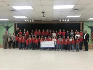 Alberto & Celia Barrera Elementary  $1,000.00