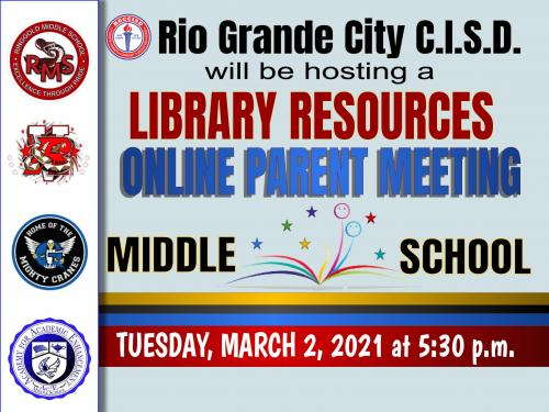MS Library Resource Meeting