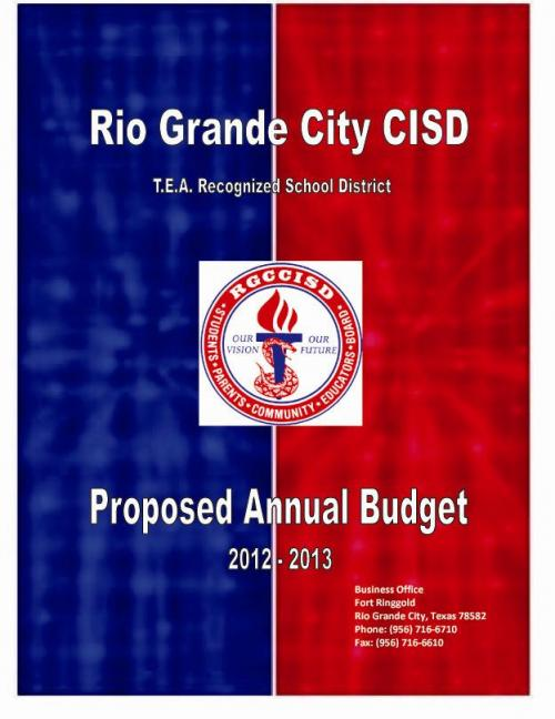 2012-2013 Proposed Annual Budget