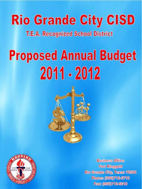 2011-2012 Proposed Annual Budget