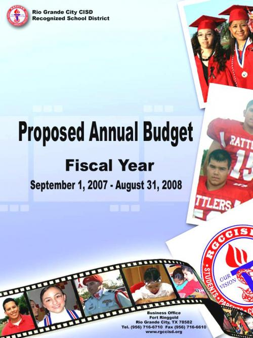 2007-2008 Proposed Annual Budget