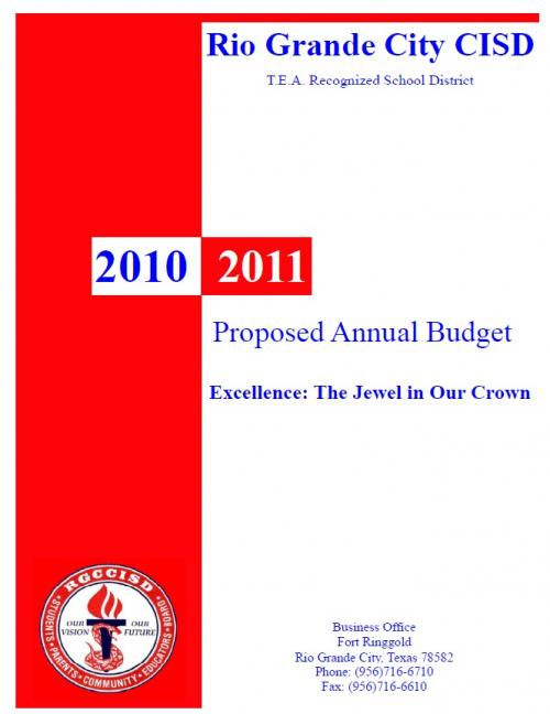 2010-2011 Proposed Annual Budget