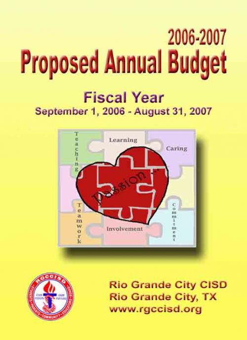 2006-2007 Proposed Annual Budget