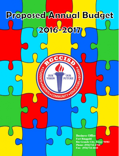 2016-2017 Proposed Annual Budget