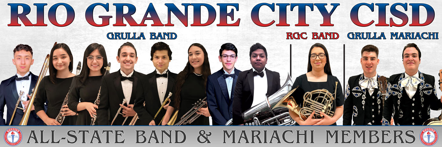all-state band and mariachi members