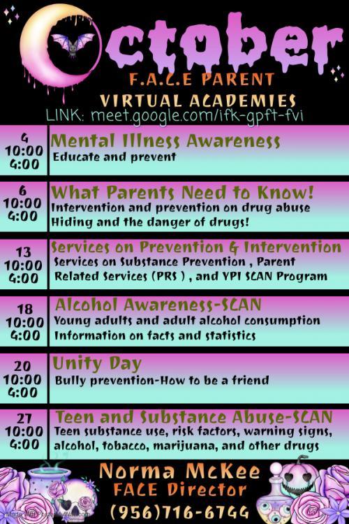 october parent virtual academies