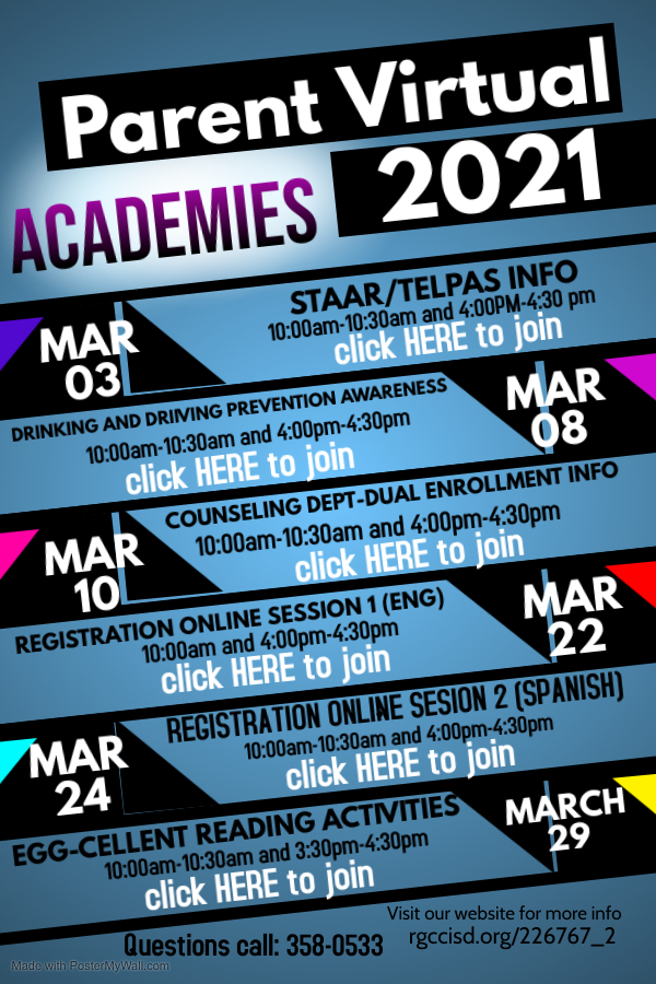 parent virtual academies march
