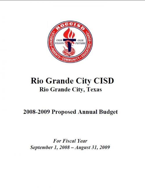 2008-2009 Proposed Annual Budget