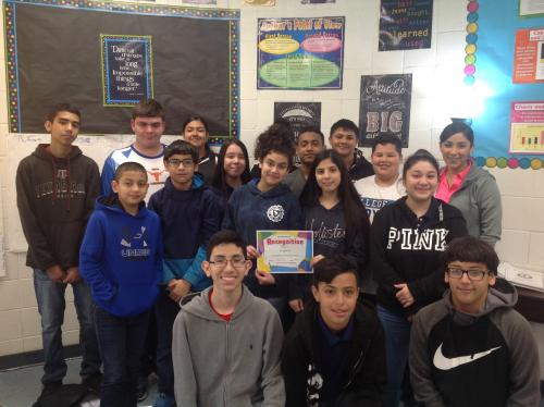 GMS Perfect Attendance Ms. Soto