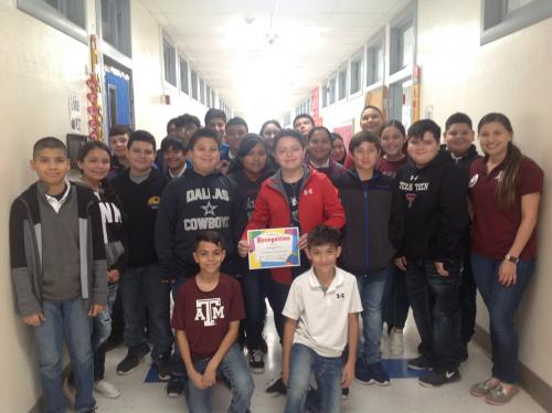 GMS Perfect Attendance Ms. K. Ramirez