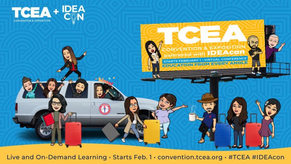 RGCCISD Tech Coaches prepare to attend TCEA Virtual Conference