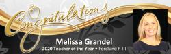 Fordland R-III Educator Named 2020 Missouri Teacher of the Year