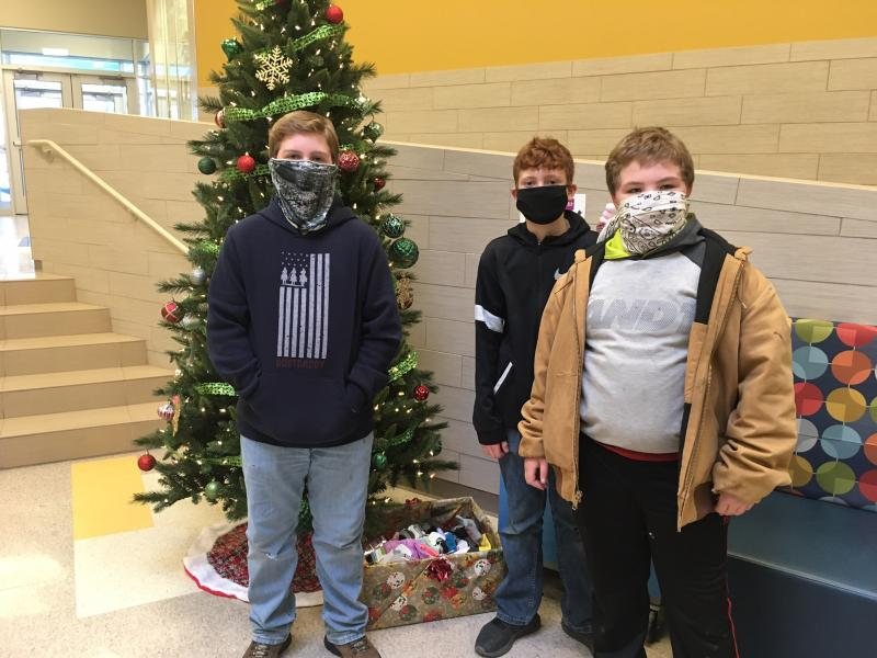 Fordland Student's Sock Drive for the Homeless