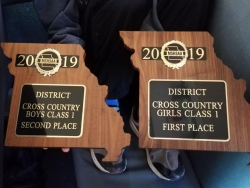 Girls and Boys 2019 District 5 Class 1 Cross Country