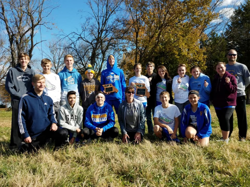 2019 Fordland Cross Country Team
