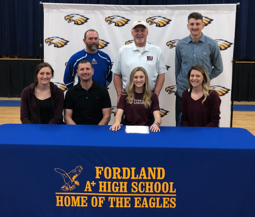 Singing Letter of Intent with Evangel University