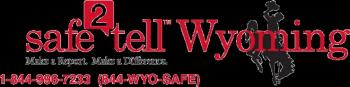 Safe 2 Tell Wyoming Logo